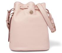 Brody Textured-leather Shoulder Bag Ecru