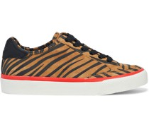 Rb Army Low Sneakers aus Veloursleder mit Tigerprint und Lederbesatz