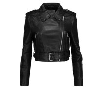Shirley leather biker jacket
