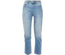 The Original Cigarette  Faded High-rise Slim-leg Jeans