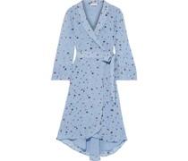 The Alex Floral-print Chiffon Wrap Dress