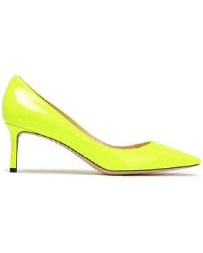 Romy Patent-leather Pumps Bright Yellow