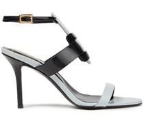Pilgrim Two-tone Leather Sandals