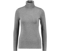 Farrah stretch-jersey turtleneck top