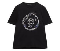 Alex Verziertes T-shirt aus Baumwoll-jersey mit Print
