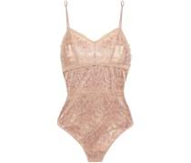 Natalia Stretch-leavers Lace Bodysuit