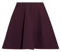 Marina Stretch-ponte Mini Skirt Plaume