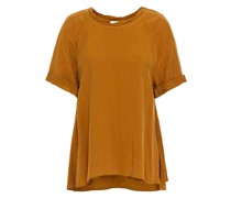 Washed Cupro-blend Top