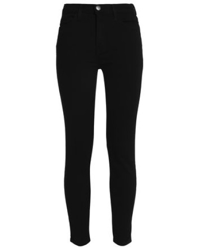 High-rise Skinny Jeans Black  3