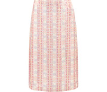 Collection sequined silk-georgette midi skirt