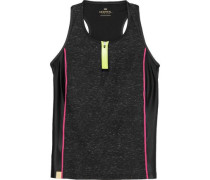 Action stretch-jersey tank