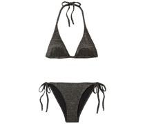 Pamela Triangel-bikini mit Metallic-effekt