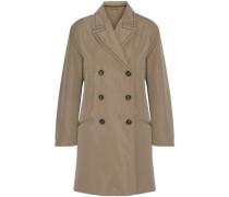 Shell trench coat