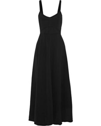 Cynthia Cutout Stretch-crepe Midi Dress Black Size 0