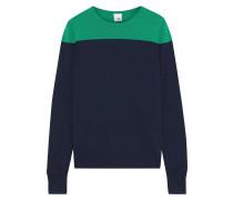 Phlox Two-tone Merino Wool Sweater