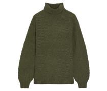 Briggitte Ribbed Merino Wool-blend Turtleneck Sweater