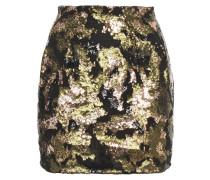 Liv Sequin-embellished Chiffon Mini Skirt