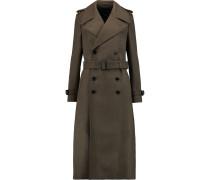 Townie Brushed Wool-blend Coat Armeegrün