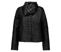 Anfinolea Quilted Shell Down Coat Schwarz