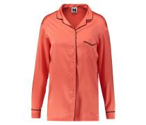 Silk-blend Shirt Knallorange