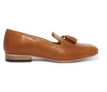 Gaston Leather Loafers Hellbraun