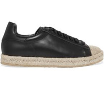 Rian leather espadrille sneakers