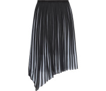 Pleated Chiffon Skirt Elfenbein