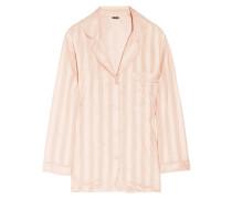 Striped Cotton Pajama Top Puder