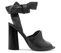 Kyoto Leather Sandals Schwarz