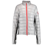 Hybridge Lite Quilted Shell Down Jacket Grau