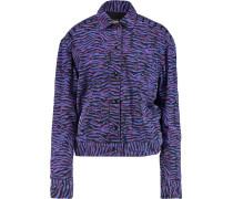 Printed Denim Jacket Mehrfarbig