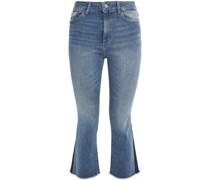 Bridget Hoch Sitzende Kick-flare-jeans mit Fransen