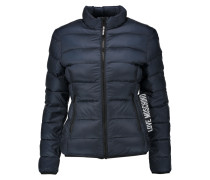 Quilted Shell Down Jacket Mitternachtsblau