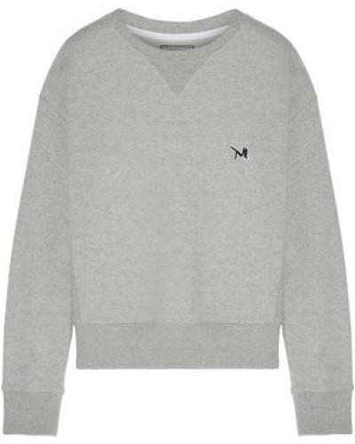 French Cotton-terry Sweatshirt Gray