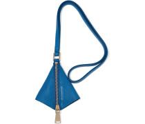 Leather Keychain Blau