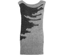Open-knit Tunic Schwarz