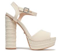 Jane Canvas Platform Sandals