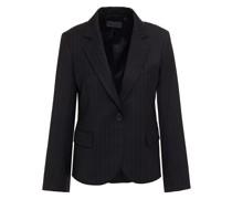Pinstriped Wool-blend Twill Blazer