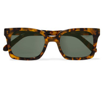 Praise Keeper Square-frame Acetate Sunglasses Horn