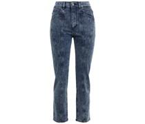 Mara Hoch Sitzende Cropped Jeans mit Schmalem Bein