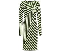 Kleid aus Intarsienstrick
