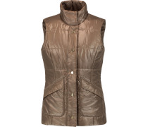 Channing Quilted Shell Vest Champignon