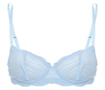 Dolce Stretch-lace And Jersey Underwired Bra