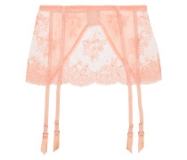 Every Yours Lace Suspender Belt Neutral