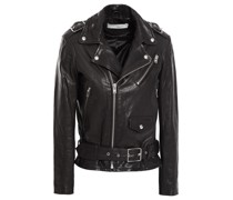 Anoh Leather Biker Jacket