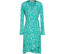 Karina Printed Jersey Wrap Dress