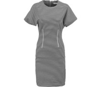 Thiva striped stretch cotton-blend dress