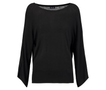 Stretch-knit Sweater Schwarz