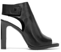 Woman Brin Leather Slingback Sandals Black
