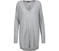 Stretch-knit Sweater Grau